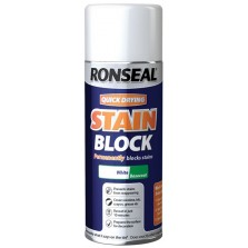 Ronseal Quick Dry Stain Block Aerosol 400ml