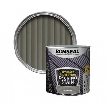 Ronseal Ultimate Protection Decking Stain 2.5L Stone Grey