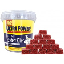 Big Cheese Ultra Power Block Bait Rodent Killer STV568
