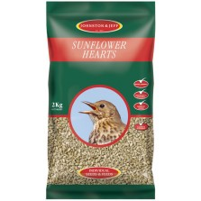 Johnston & Jeff Sunflower Hearts 2KG