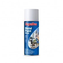 Supadec Metal Spray Paint 400ml White Gloss
