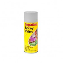 Supadec Spray Paint 400ml Grey Gloss