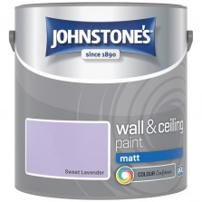 Johnstones Vinyl Emulsion Paint 2.5L Sweet Lavender Matt
