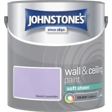 Johnstones Vinyl Emulsion Paint 2.5L Sweet Lavender (Soft Sheen)