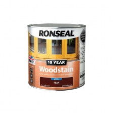 Ronseal 10 Year Woodstain Teak Satin 750ml