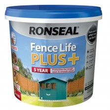 Ronseal Fence Life Plus + 5L Teal