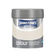Johnstones Vinyl Emulsion Tester Pot 75ml Ivory Spray (Matt)