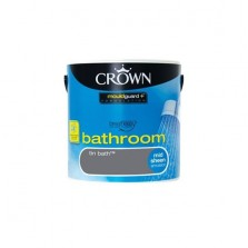 Crown Bathroom Paint 2.5L Tin Bath (Mid-sheen)