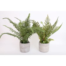 Artificial Fern In Pot 32cm