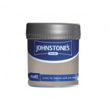 Johnstones Vinyl Emulsion Tester Pot 75ml Toasted Beige (Matt)