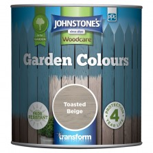 Johnstones Garden Colours Paint 1L Toasted Beige