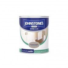 Johnstones Quick Dry Paint 750ml Toasted Beige Satin