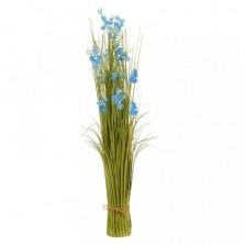 True Blue Faux Bouquet 90cm