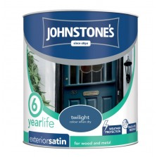 Johnstones Exterior Satin Paint 750ml Twilight