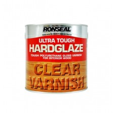 Ronseal Ultra Tough Hardglaze Varnish 250ml Clear Gloss