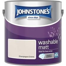 Johnstones Washable Matt Champagne Creme 2.5litres