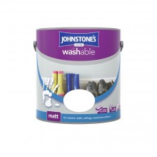 Johnstones Washable Emulsion Paint 2.5L Signal Red Matt