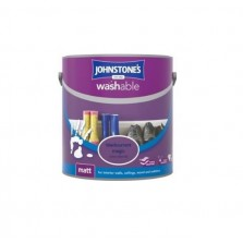Johnstones Washable Emulsion Paint 2.5L Blackcurrant Magic (Matt)