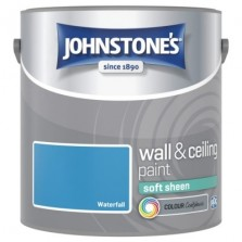 Johnstones Vinyl Emulsion Paint 2.5L Waterfall Soft Sheen