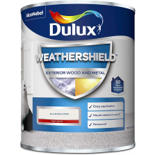 Dulux Weathershield Exterior Wood and Metal 750ml Pure Brilliant White High Gloss