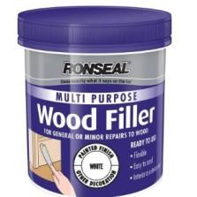 Ronseal Multi Purpose Wood Filler 250g White