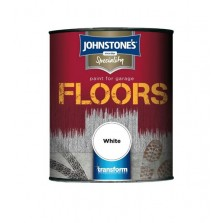Johnstone's Garage Floor Paint 750ml White