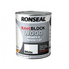 Ronseal Knot Block Primer & Undercoat 250ml White