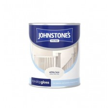 Johnstones Non Drip Gloss Paint 750ml White Lace