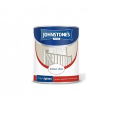 Johnstones Liquid Gloss Paint 1.25L Brilliant White