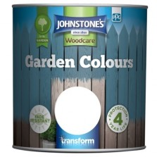 Johnstones Garden Colours Paint 2.5L White Orchid