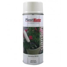 Plastikote Garden Colours Multi Surface Spray Paint 400ml Jasmine White
