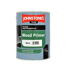 Johnstones Trade Wood Primer 5L White