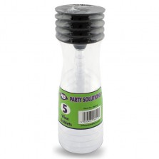 PPS Plastic Wine Goblets (5 Pack)