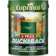 Cuprinol 5 Year Ducksback 5L Woodland Moss