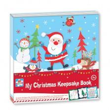 Kids Create My Christmas Keepsake Book
