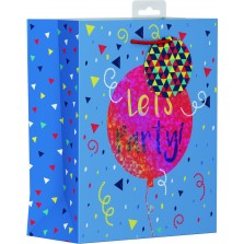 Birthday Lets Party Gift Bag Medium