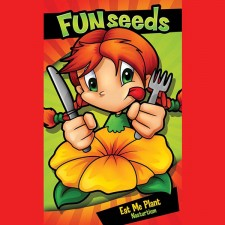 Mr Fothergill's Fun Seeds Eat Me Plant (25 Seeds)