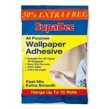 SupaDec All Purpose Wallpaper Adhesive 10 Rolls (Plus 50 Extra Free)