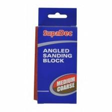 Supadec Medium/Coarse Angled Sanding Block