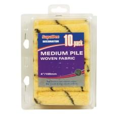 """SupaDec 4"""" Medium Pile Woven Fabric 10pack"""