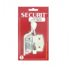 Securit S5131 Zinc Plated Auto Gate Latch