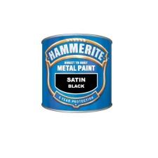 Hammerite Metal Paint 250ml Black Satin