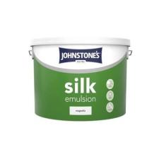 Johnstones Vinyl Emulsion Paint 10L Magnolia (Silk)