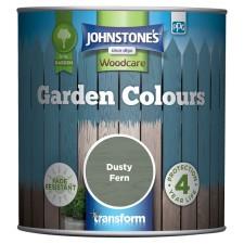 Johnstones Garden Colours Paint 1L Dusty Fern