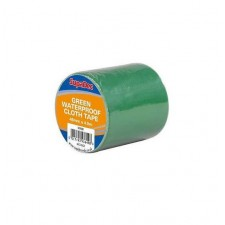Supadec Waterproof Cloth Tape 48mm x 4.5m Green