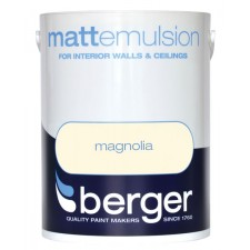 Berger Emulsion Paint 5L Magnolia (Matt)