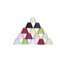 """Coolie Lampshade 12"""" Light Blue"""
