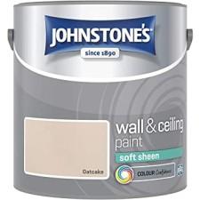 Johnstones Vinyl Emulsion Paint 2.5L Oatcake (Soft Sheen)