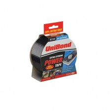 UniBond Extra Strong Power Tape 50mm x 25m (+ 20% Extra) Black
