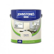 Johnstones Vinyl Emulsion Paint 2.5L Magnolia (Silk)